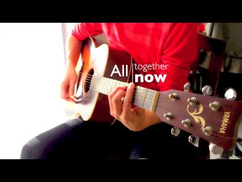 All Together Now - The Beatles karaoke cover