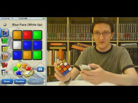 iPhone Rubik Cube Solver Is Pure Genius