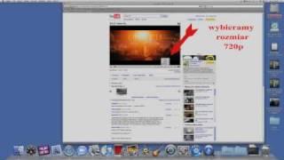 Pobieranie filmu HD z Youtube na Mac OSX