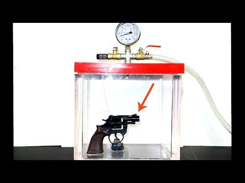 what happens if you a gun inside a vacuum chamber? Will a gun fire in space?