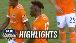 Houston Dynamo vs. San Jose Earthquakes | 2017 MLS Highlights