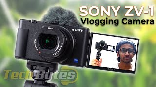 Sony ZV-1 | A Perfect Portable Vlogging Camera | TECHBYTES