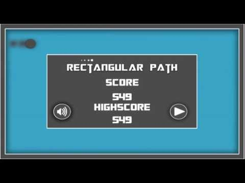 Rectangular Path Unity 3D One Touch Game Template - One Touch Games