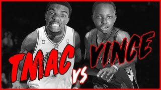 WHO'S BETTER? VINCE CARTER OR TRACY MCGRADY?! - NBA 2K16 Head to Head Blacktop Gameplay Game 7
