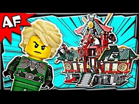 Vidéo LEGO Ninjago 70728 : Le Temple de Ninjago City