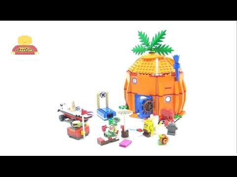 Vidéo LEGO Bob l'éponge 3834 : Les voisins de Bob l'éponge