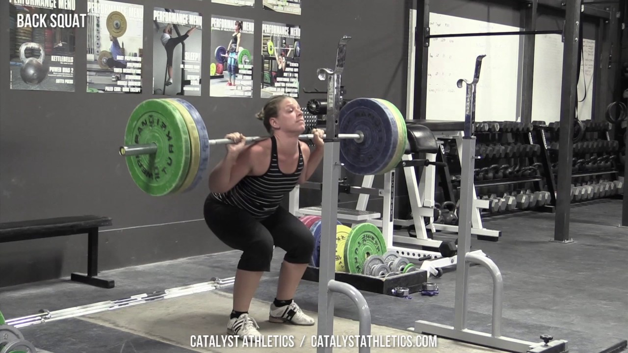 Back Squat Exercise Library Demo Videos Information