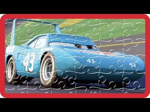Cars Finger Family Jigsaw Puzzle - Disney Pixar Cars The King Lightning McQueen Mater Nursery Rhymes
