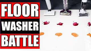 Bissell Crosswave Pet Pro vs Hizero vs Tineco Ifloor - TESTED