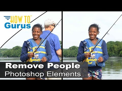 How to Remove People, Objects from a Photo in Adobe Photoshop Elements