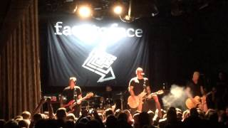 "Face to Face ""Struggle,"" ""I Know You Well,"" ""Sensible,"" & ""A-Ok"" @ The Bowery Ballroom 5/23/15"