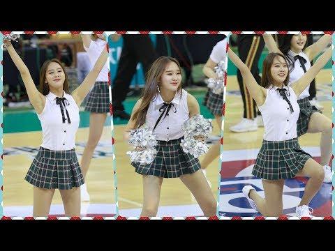 [4K] 200216 치어리더 박소정 직캠 (cheerleader) - 응원 @여자농구경기(부천실내체