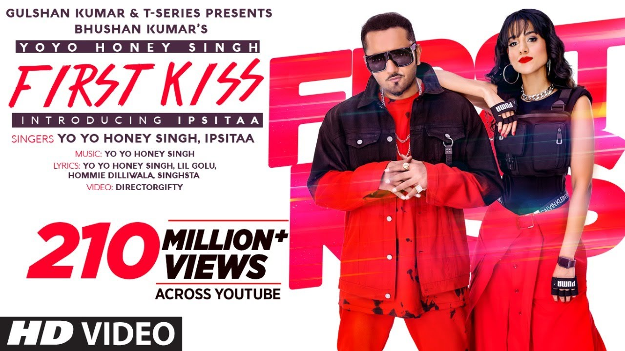 First Kiss| Yo yo honey Singh, Ipsitaa Lyrics
