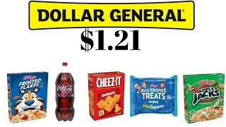 Couponing at Dollar General | Cheap Groceries | Comfort Living With The Reeds