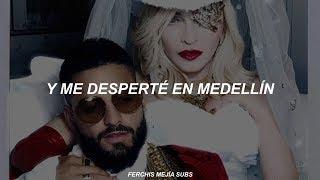 [ Madonna, Maluma ]    Medellín (EspañolSub Español)