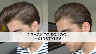 2 Medium/Long Hairstyles | Mens Hair 2016