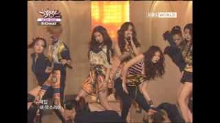 [Music Bank K-Chart] 4Minute - Volume Up (2012.04.13)