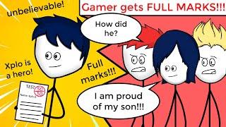 When a gamer gets Full Marks