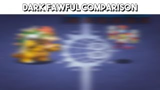 Mario & Luigi: Bowser's Inside Story 3DS vs. DS - Dark Fawful Boss Battle Comparison