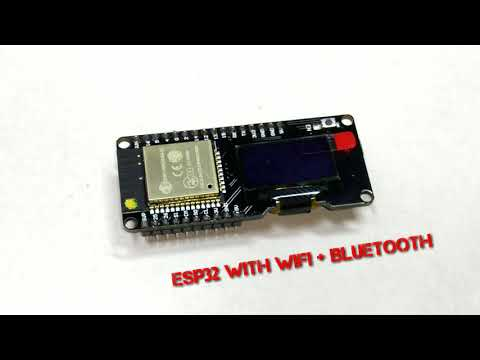Wemos ESP32 OLED + Bosch BME 280 Weather Station