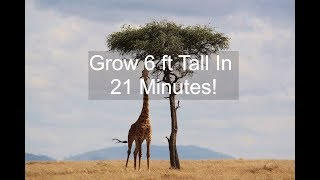 ✔️BECOME 6ft TALL OVERNIGHT! SUBLIMINAL