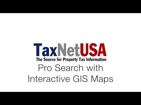TaxNetUSA Intro to GIS Maps: and Pro Search