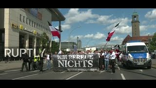 LIVE: European Neo-Nazis march in Berlin, counter-protests expected
