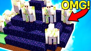 EXTREME BASE DEFENSE! (Minecraft Bedwars)