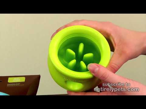 West Paw Toppl Tough Dog Chew Toy - Green (Large) Video