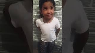 Alma 4 años Cantando (La Navidad del Pibe) Yerba Brava!!!
