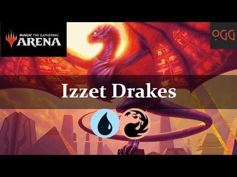 Izzet Drakes | Guilds of Ravnica Standard Deck (MTG Arena