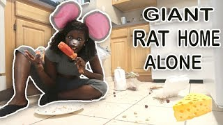 The Giant Rat Is Home Alone
