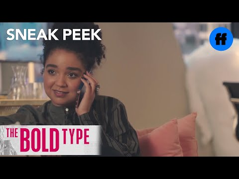 The Bold Type | Season 1 Episode 8 Sneak Peek: Kat Calls Adena | Freeform