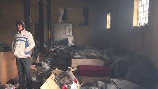 Migrants suffer arctic conditions in freezing Belgrade