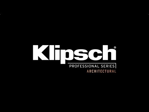 How To Install Klipsch Professional Series | Architectural