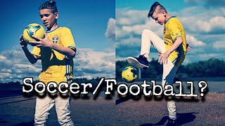 Marcus & Martinus - Playing Soccer/football