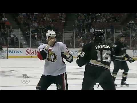 Matt Carkner vs George Parros