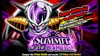 SUMMIT OF THE UNIVERSE! LR FRIEZA 50 STAMINA EVENT! DBZ Dokkan Battle [Deutsch]