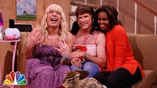 """""""Ew!"""" with Jimmy Fallon, Will Ferrell & First Lady Michelle Obama"""