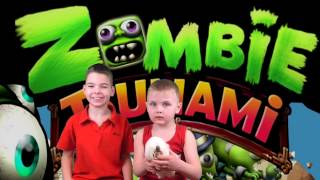 СУМАСШЕДШИЙ ЗАБЕГ ЗОМБИ Макс против Влада ЧЕЛЛЕНДЖ в игре zombie tsunami Кто съест больше людей \