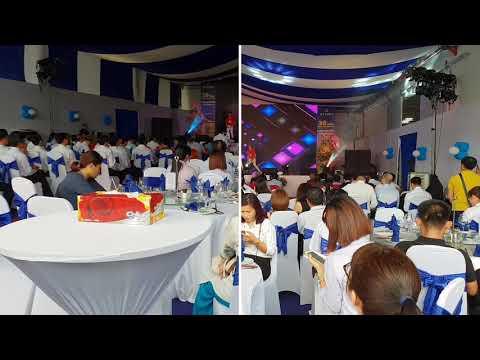 Tiệc liên hoan công ty nhựa Bình Minh nhân dịp kỉ niệm 20 năm thành lập