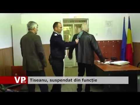 Tiseanu, suspendat din funcție
