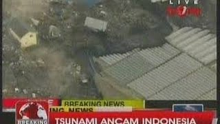 DetikDetik Tsunami Menghantam Pascagempa 74 SR Jepang
