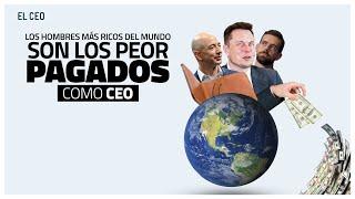 Los hombres más ricos del mundo son los peor pagados como CEO