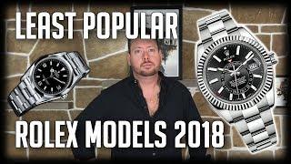 5 Least Popular Rolex Models 2018