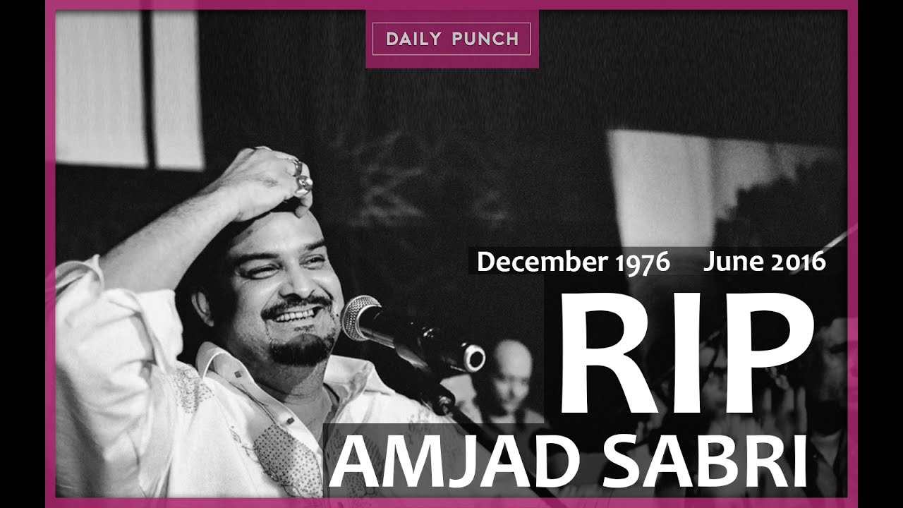 Tribute to Amjad Sabri