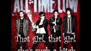 That Girl - All Time Low lyrics!