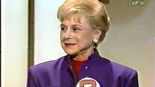 To Tell The Truth 90- First Game: Bobby Riggs Wife