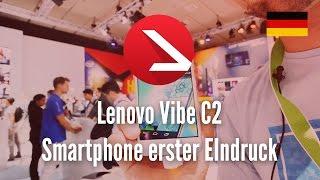 Lenovo Vibe C2 Smartphone Erster EIndruck [4K UHD]
