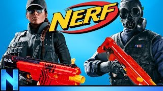 NERF Rainbow Six Siege - DEFEND THE HOUSE!